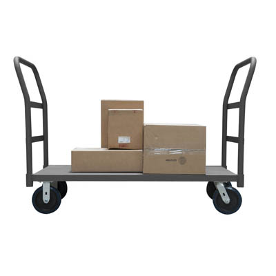 "2 Sided Platform Truck with 8 "" Polyurethane Casters (3,600 lbs. capacity)"