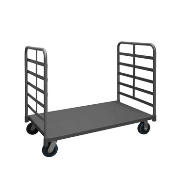 "2 Sided Platform Truck with 6 "" Polyurethane Casters (3,600 lbs. capacity)"
