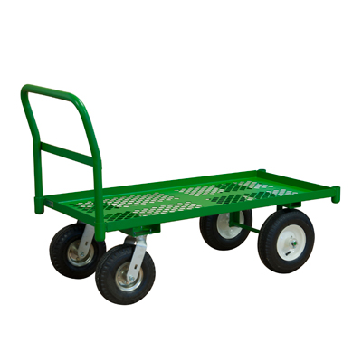 "Perforated Garden Truck w/ 12"" Pneumatic Casters (1,000 lbs. Capacity)"