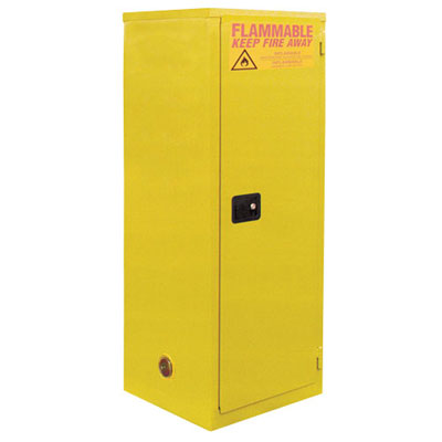 Safety Cabinet for Flammables w/ 1 Door- Manual Close