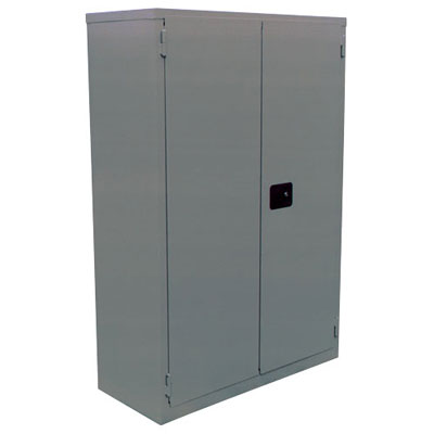 "Double-Walled, Fire Resistant Security Cabinet, 43""W x 34""D x 65""H"