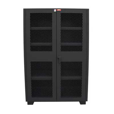 "14 Gauge Clearview Door Cabinet, 36""W x 18""D x 78""H"