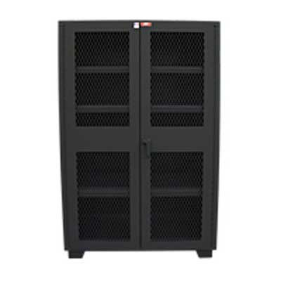 "14 Gauge Clearview Door Cabinet, 48""W x 24""D x 78""H"