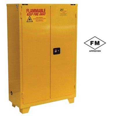 Forkliftable Safety Cabinet for Flammables- Self Close