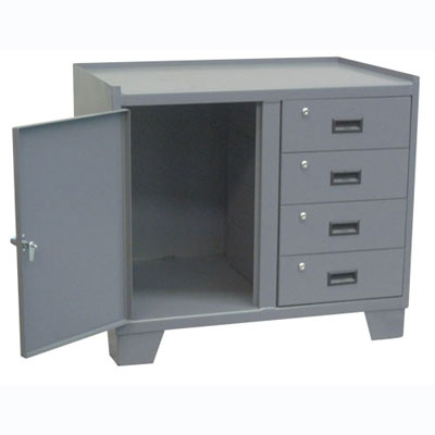 14 Gauge Security Cabinet w/ 4 Drawers