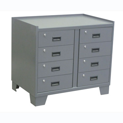 14 Gauge Security Cabinet w/ 8 Drawers