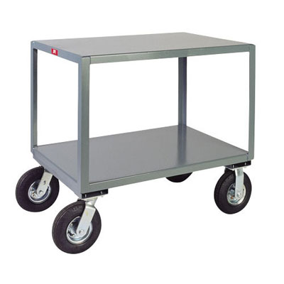 "2 Shelf Vibration Reduction Mobile Table, 24"" Wide, 1,200 lb. Capacity"
