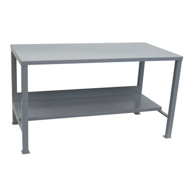 "Heavy Duty Workbench with Flush Top, 30"" Deep"
