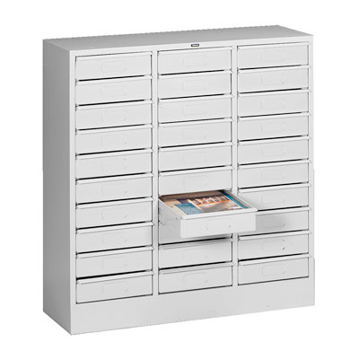 Thirty Drawer Organizers - 30 5/8'W x 33'H