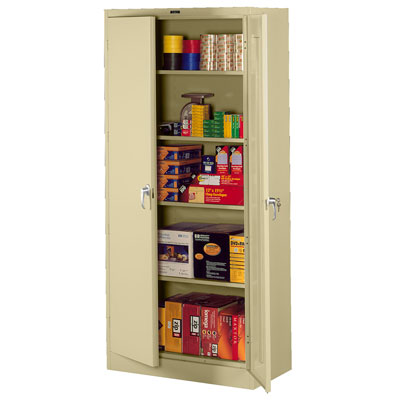 Deluxe Storage Cabinet - 36'W x 18'D x 78'H