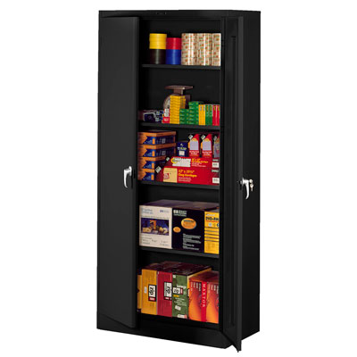 Easy To Assemble Deluxe Storage Cabinet - 36'W x 24'D x 78'H