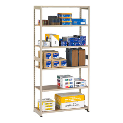 Regal Shelving, Add-On Unit - 36'W x 76'H