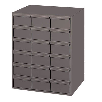 18 Drawer Cabinet - Vertical - Standard Drawer