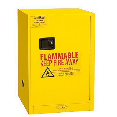 "Flammable Safety Cabinet, 12 Gallons (45L) - 23""W x 18""D"