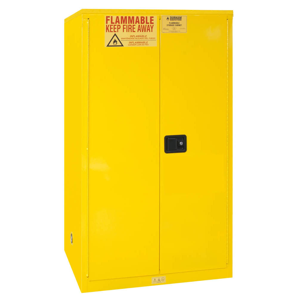 "Flammable Safety Cabinet, 60 Gallons (227L) - 34""W x 34""D"