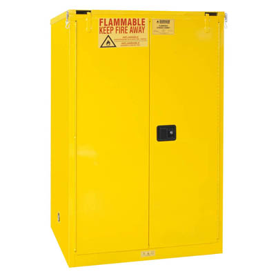 "Flammable Safety Cabinet, 90 Gallons (340L) - 43""W x 34""D"