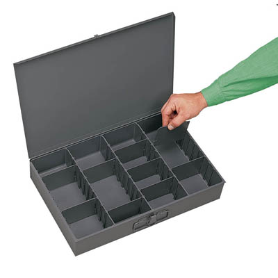 Adjustable Compartment Large Vertical Box