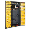 Small Parts Storage & Security Cabinet with 60 Jumbo Drawers & 96 Hook-On-Bins