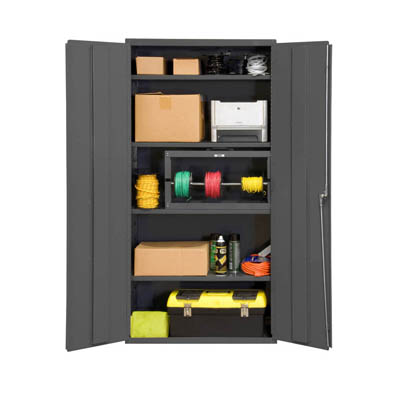 14-Gauge Cabinet with Adjustable Shelves