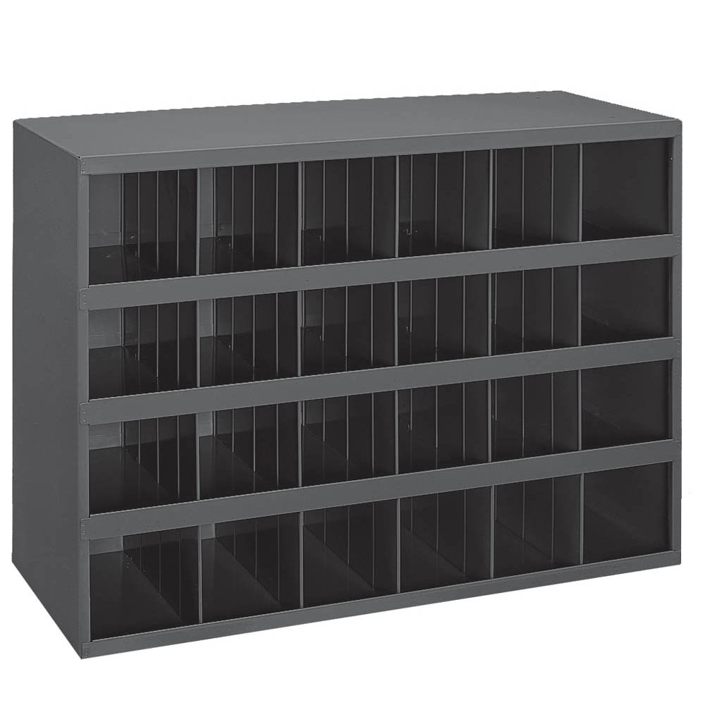 "24 Open Bin - 12"" Deep - Slope Shelf"