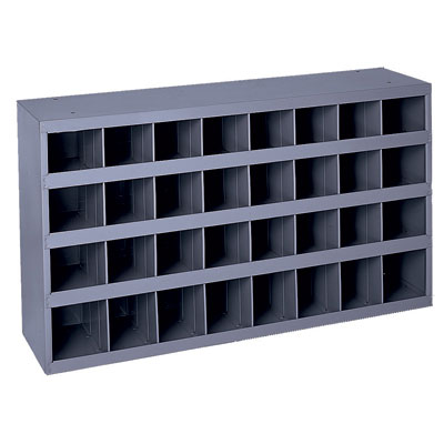 "32 Open Bin - 12""Deep - Slope Shelf"