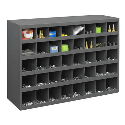 "40 Open Bin - 12"" Deep - Slope Shelf"