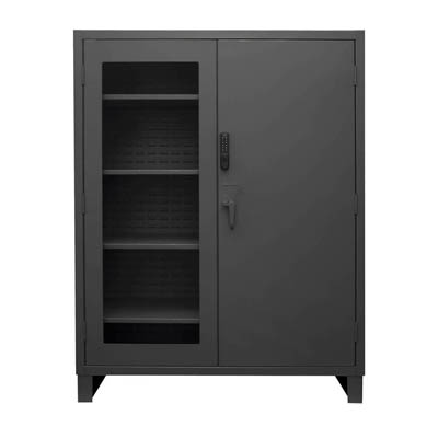 "Heavy Duty Cabinet with Electronic Access Control - 60""W x 24""D x 78""H"