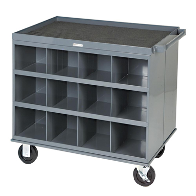2 Sided Cart with 24 Bins