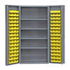 "36"" Wide with 96 Bins, 4 Shelves and 4"" Door Shelves"
