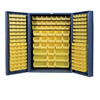 "48"" Wide Cabinet with 176 Bins (4"" Deep Box Door Style)"