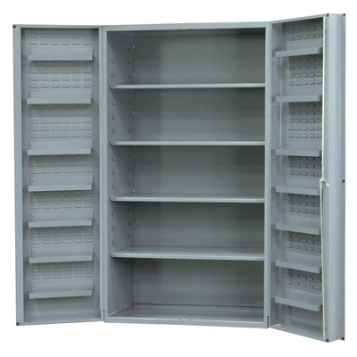 "Cabinet with 4 Shelves and 4"" Deep Box Door Style"