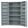 Heavy Duty Cabinet - 4 Shelves and 12 Door Shelves