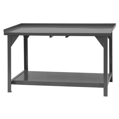 "Heavy Duty Workbench with Lips Up - 34""H"