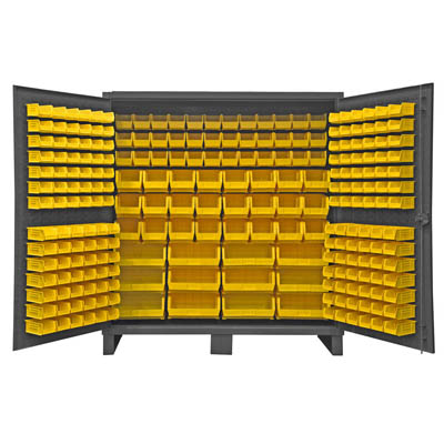 Extra Heavy Duty 12-Gauge Cabinet with 240 Hook-On Bins