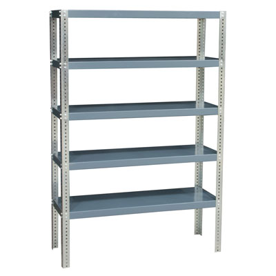 "96"" High - Extra Heavy-Duty Shelving, 48""W x 24""D x 96""H"