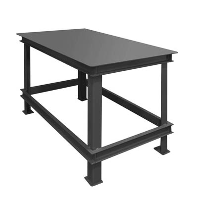 "Extra Heavy Duty Machine Table - 48"" Wide"