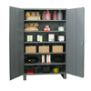 Cabinet with flush doors (3, 4 or 5 shelf )