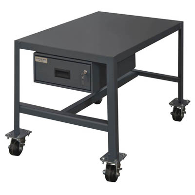 "Medium Duty Machine Table with Drawer- 48"" Wide"