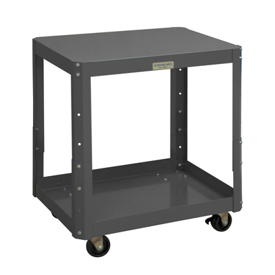 "Adjustable Mobile Machine Tables, 24""D (1,000 lbs. Capacity)"