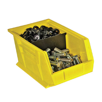 "12 Pack of Hook-On Bins 6""W x 11""D x 5""H"