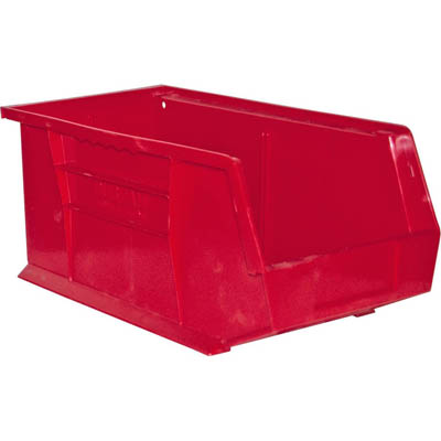 "12 Pack of Hook-On Bins 8""W x 15""D x 7""H"