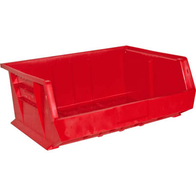 "6 Pack of Hook-On Bins 16""W x 15""D x 7""H"