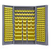 "48"" Wide Cabinet with 192 Bins 4"" - Deep Box Door Style"