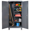 "12-Gauge, Extra Heavy Duty Lockable Maintenance Cabinets, 48""W x 24""D x 78""H"