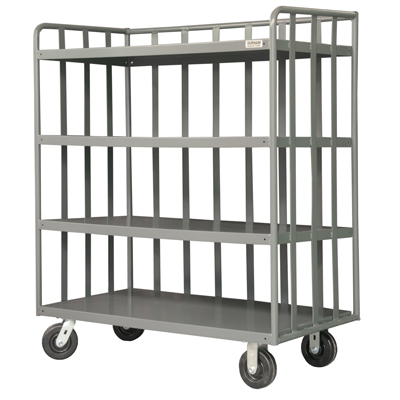 Open Portable Shelf Trucks