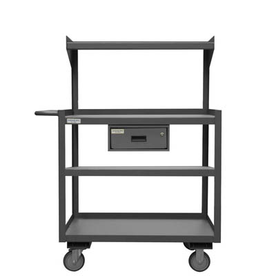 3 or 4 Shelf Portable Shop Desks - with or without drawer