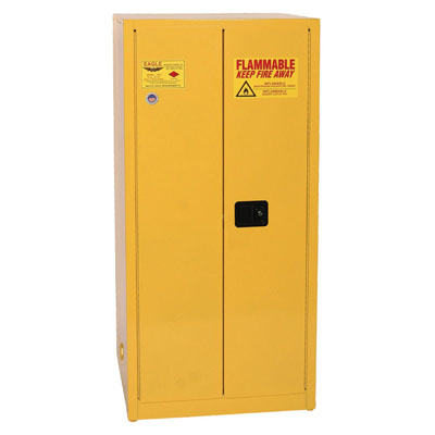 Flammable Liquid Safety Cabinet- 60 Gallon Capacity, One Door