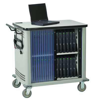 Laptop Charging and Storage Carrier