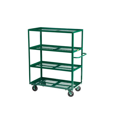 Multi-Shelf Nursery Truck w/ 4 Shelves (400 lbs. Capacity per Shelf)