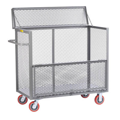 "Security Box Truck w/ 6"" Polyurethane Casters"